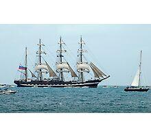 Tall Ships Atlantic Challenge 2009 - Kruzenshtern Photographic Print