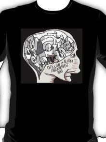 Off & On the Alaska Parkinson's Rag t-shirt T-Shirt