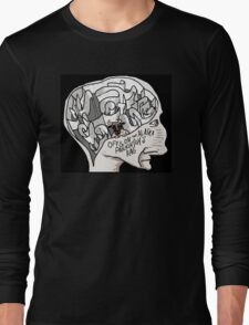 Off & On the Alaska Parkinson's Rag t-shirt Long Sleeve T-Shirt