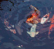 FISH POND No2 by Paul Quixote Alleyne
