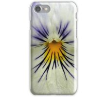 Mouth White Spring Flower Macro iPhone Case/Skin