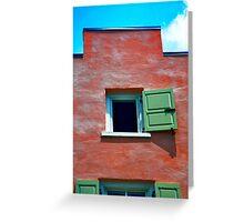 Windows and Doors Series Greeting Card