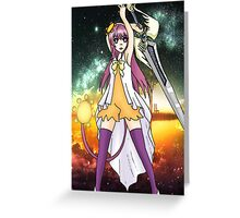 Hotaru to Sword Singer Greeting Card