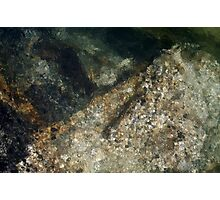 River Rock Abstract 3 Photographic Print