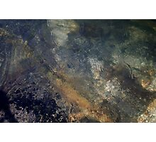 River Rock Abstract 4 Photographic Print