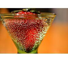 Berries & Bubbles Photographic Print