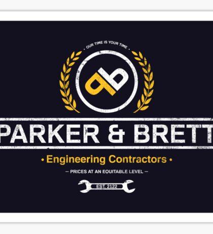 Parker & Brett Sticker