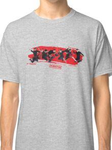 mcbusted red Classic T-Shirt