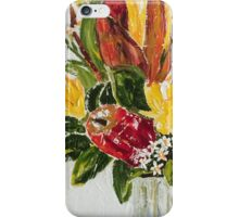 Aussie native impasto 2 iPhone Case/Skin