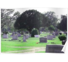 Urban Graveyard Poster