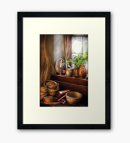 Try to keep busy  Framed Print