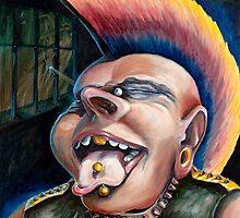 Punk Rocker by ttrujilloartt