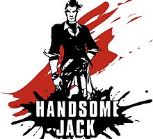Handsome Jack by WondraBox
