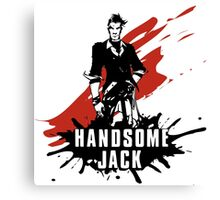 Handsome Jack Canvas Print