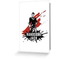Handsome Jack Greeting Card