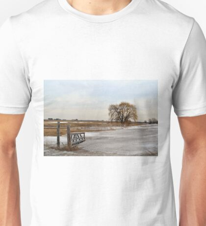 Entrance to the Willow Unisex T-Shirt