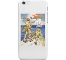 US Marines Poster iPhone Case/Skin