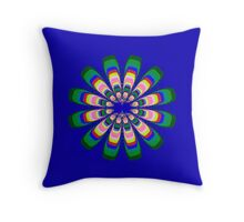 Sterling Flower Throw Pillow
