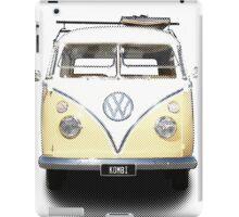 Volkswagen Kombi Newsprint  iPad Case/Skin