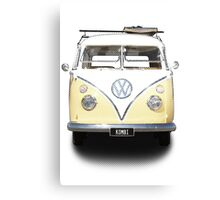 Volkswagen Kombi Newsprint  Canvas Print