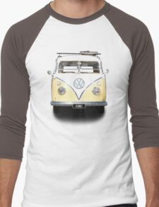 Volkswagen Kombi Newsprint © Men's Baseball ¾ T-Shirt