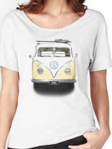 Volkswagen Kombi Newsprint © Women's Relaxed Fit T-Shirt