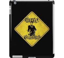 Handsome Jack Badass Crossing (Worn Sign) iPad Case/Skin