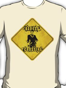 Handsome Jack Badass Crossing (Worn Sign) T-Shirt
