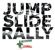 Jump Slide Rally - Back Print by scoutsrallysa