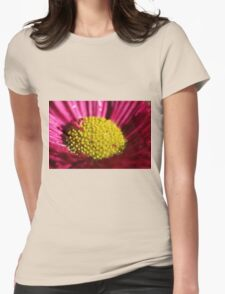 Pink Bellis Womens Fitted T-Shirt