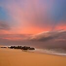 Between Storms at Rockpiles 3 by David Orias