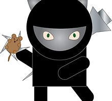 Ninja Kitty by ValeriesGallery