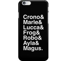 Team of Time iPhone Case/Skin