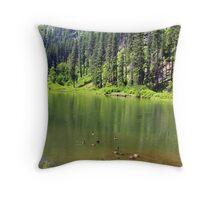 Geese Paradise Throw Pillow