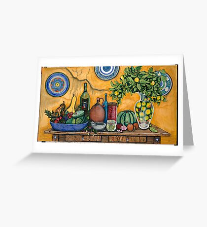 GPK Still Life 2  Greeting Card