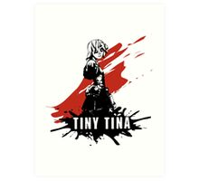 Tiny Tina Art Print