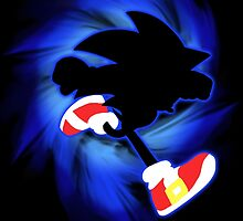 Super Smash Bros. Sonic Silhouette by jewlecho