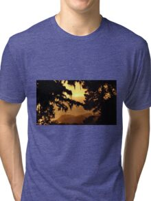 #221  Sunset Near Yankee Point Tri-blend T-Shirt