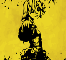 Tiny Tina Badass Crossing (Worn Sign) Sticker