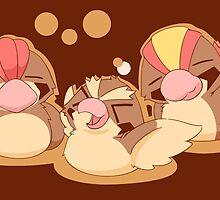 Pidgeot, Pidgeotto, Pidgey Family  by Eat Sleep Poke Repeat
