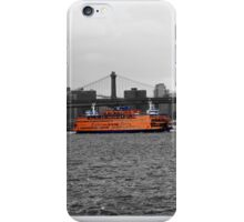 Staten Island ferry  iPhone Case/Skin