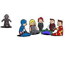 Avengers Age of Babies  by Jay Aramboo