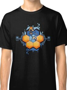 Blue Honey Mushroom Head Classic T-Shirt