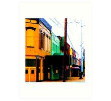 Down Town  Art Print