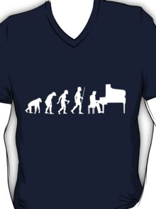 Funny Piano Evolution T Shirt T-Shirt