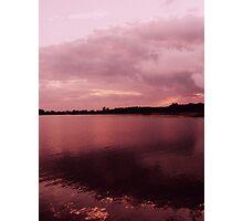Raging sky Photographic Print