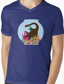 Nessie Mens V-Neck T-Shirt