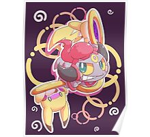 Hoopa Lord of The Rings Poster