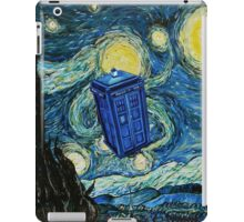 Starry Night Flying Tardis Doctor Who iPad Case/Skin