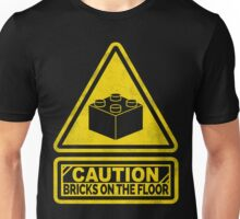 Watch Your Steps Lego Unisex T-Shirt